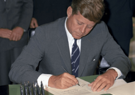 Kennedy's writing displays a pro-immigrant viewpoint