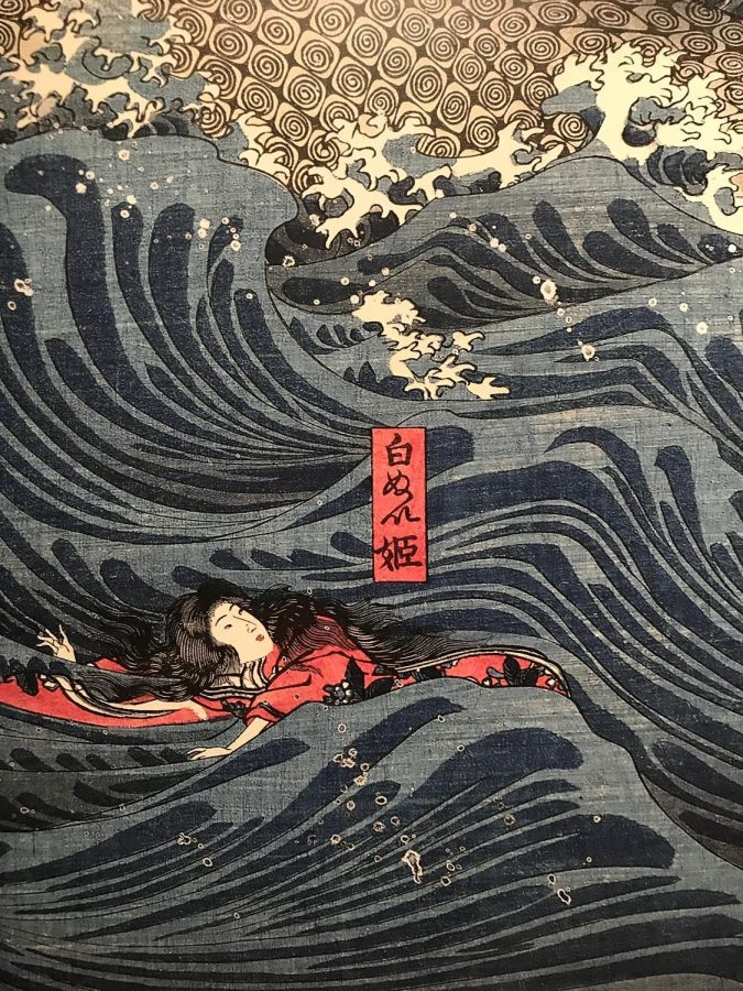Showdown%21+%3A+Kuniyoshi+vs+Kunisada+was+on+display+at+the+MFA+in+Boston+from+August+10th+to+December+10th+2017.+The+entrance+has+a+blown+up+imgae+of+one+of+the+many+prints+inside.