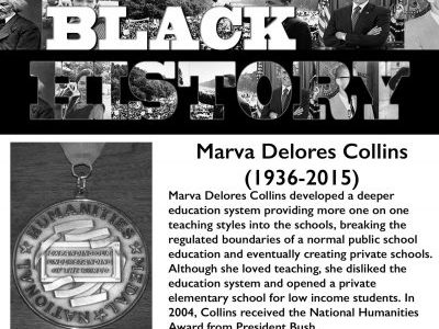 Black History Month: Marva Delores Collins
