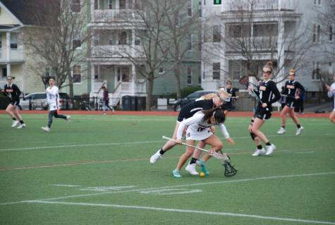 Newton North defeats Brookline varsity lacrosse