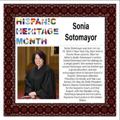 Hispanic Heritage Month: Sonia Sotomayor