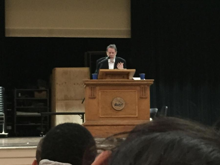 Poet provides an eye-opening experience for the high school