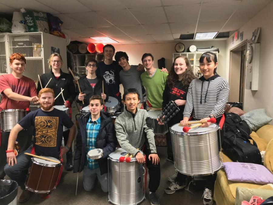 Members+of+the+Samba+Drumming+club+are+well-known+for+their+school+performances.+Club+members+say+that+the+music+brings+them+closer+together.