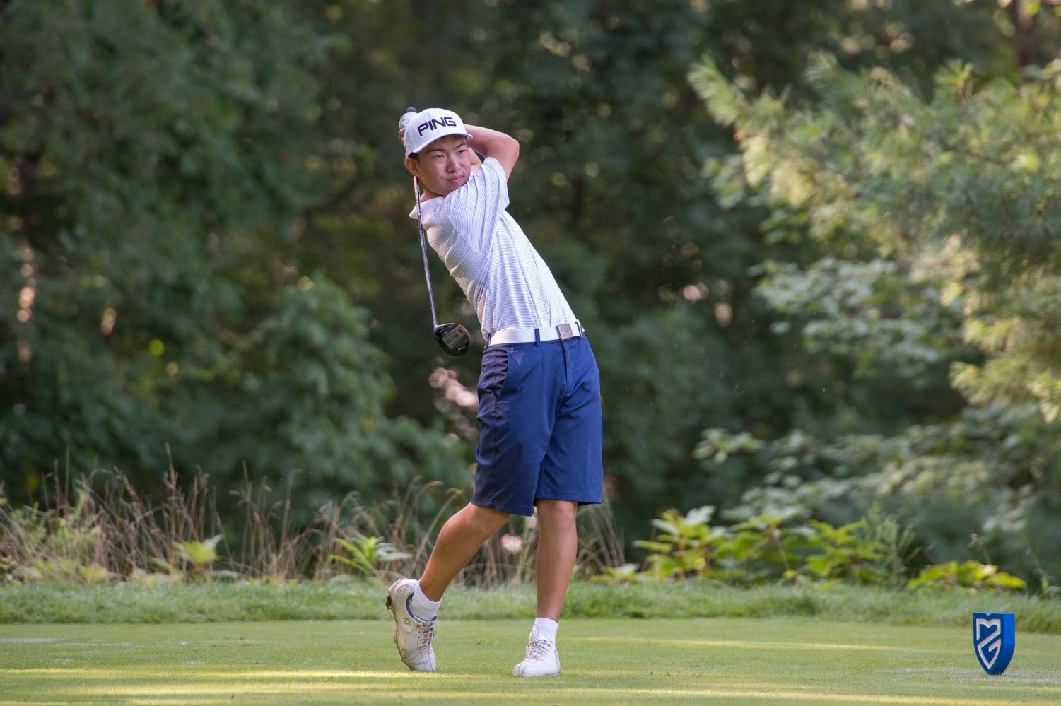 Senior James Imai golfs daily to improve his game. According to Imai, practice is essential to make progress and achieve his goals. Imai committed to Northwestern University for golf.