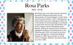 Rosa Parks – Women's History Month