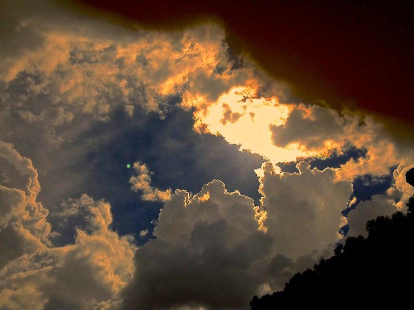 New Mexico cloudscape...