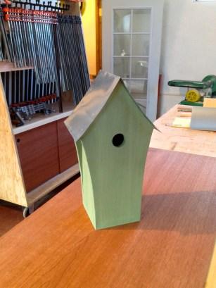 Custom Birdhouse made by The Shop...