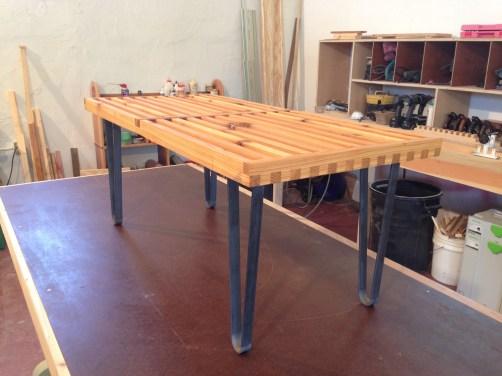 Slatted Cedar Table