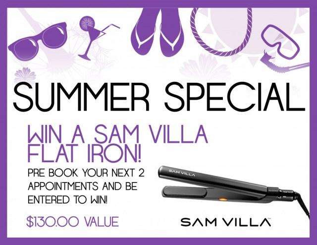 Sam Villa Prebook Summer