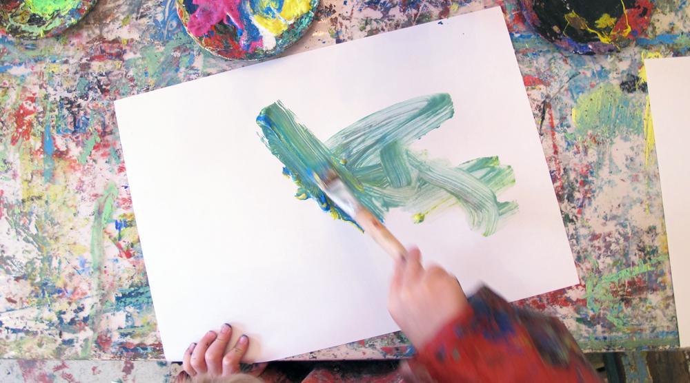 Kinderkunsthaus - Pinsel