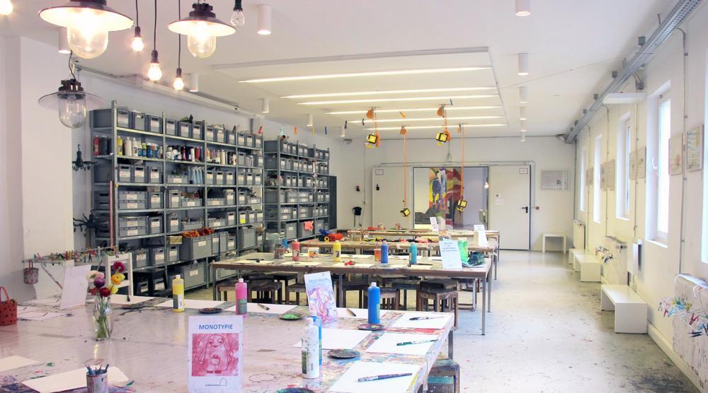 Kinderkunsthaus - Kreativwerkstatt