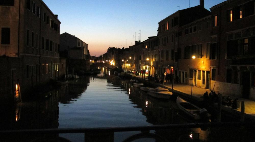 Venedig mit Kindern - Nacht
