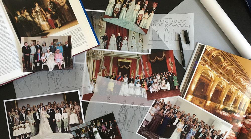 Royal Wedding Picture - DIY