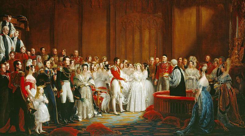 Royal Wedding Picture - Victoria & Albert, Hayter