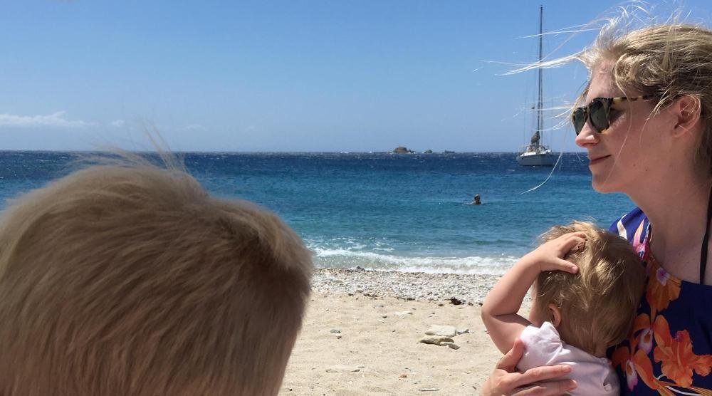 Inselhopping Ägäis - Strand