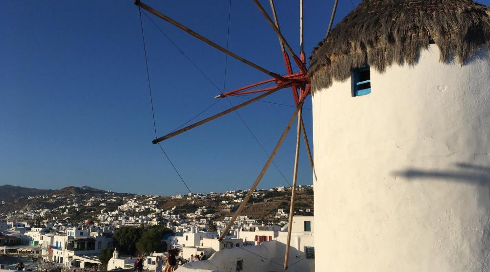 Inselhopping Ägäis - Windmühle