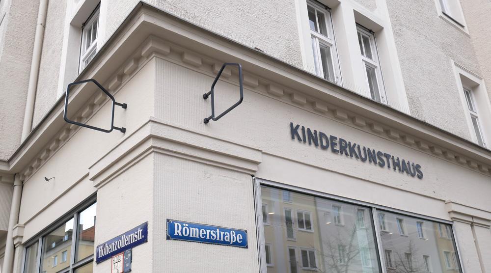 das neue Kinderkunsthaus - aussen