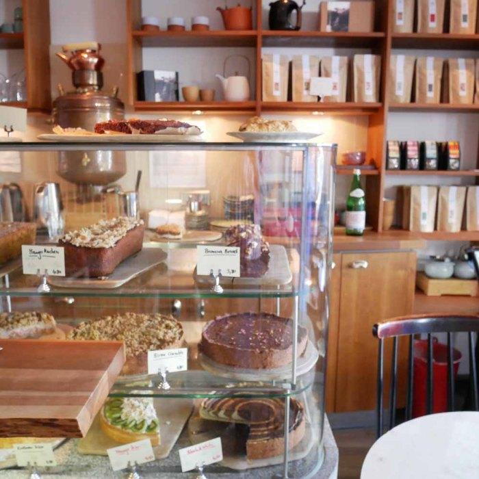 Japanische Teatime - Tushita Teehaus Kuchen