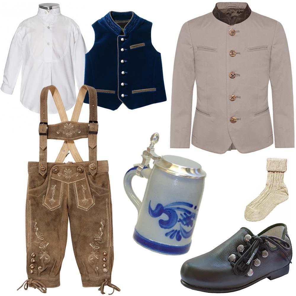 Trachten für Jungen - festliches Outfit