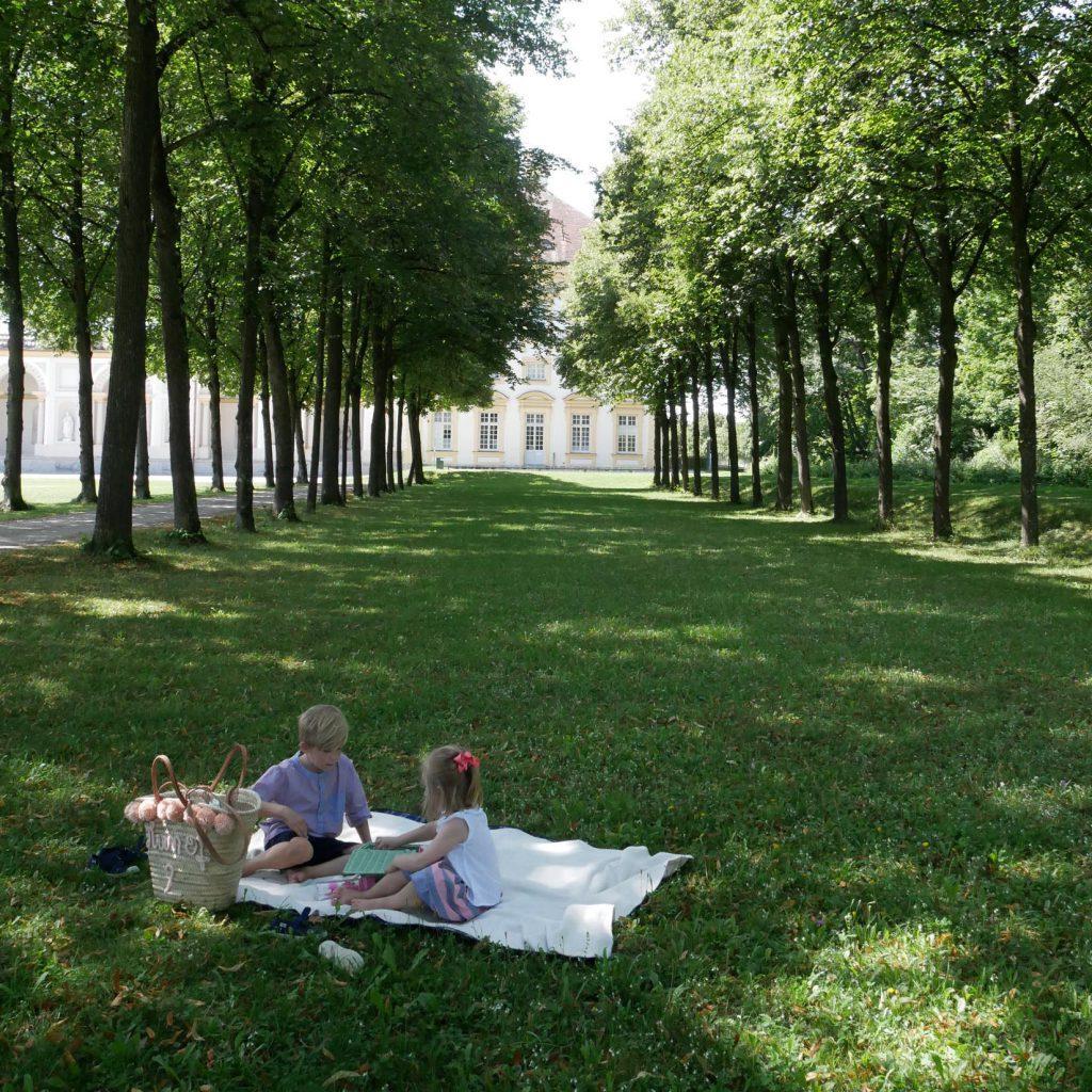 München mit Kindern im Sommer - Schleissheim