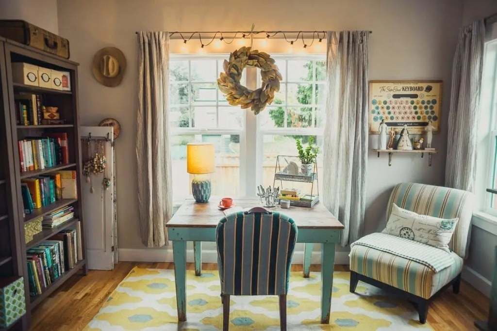 Maximalism: Feel free to mix textures and patterns