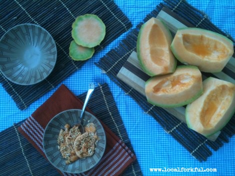 How to Cut a Cantaloupe: Recipe by The Local Forkful