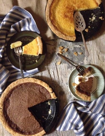 Homemade Buttermilk Pie & Basic Pie Dough via The Local Forkful