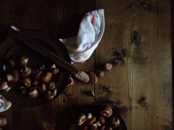 cremini mushrooms via Green Bean Delivery