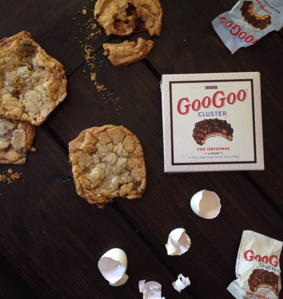 Goo Goo Cluster Recipes, Chocolate Chip Cookies, Nashville Recipes, Cookie Recipes, Chocolate