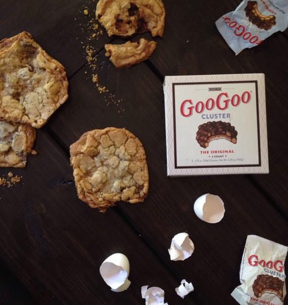 Goo Goo Cluster Recipes, Chocolate Chip Cookies, Nashville Recipes, Cookie Recipes, Chocolate