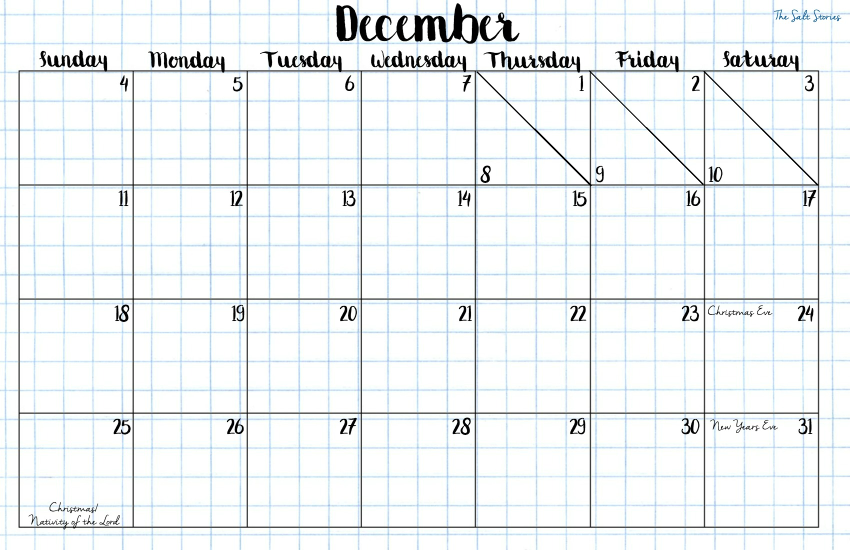 december-calendar-no-saints