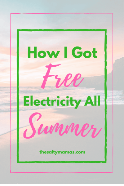 Looking for a way to earn extra money? Or save on your electric bill? Head to thesaltymamas.com to find out how to get your bills paid for FREE! #earnmoney #savemoney