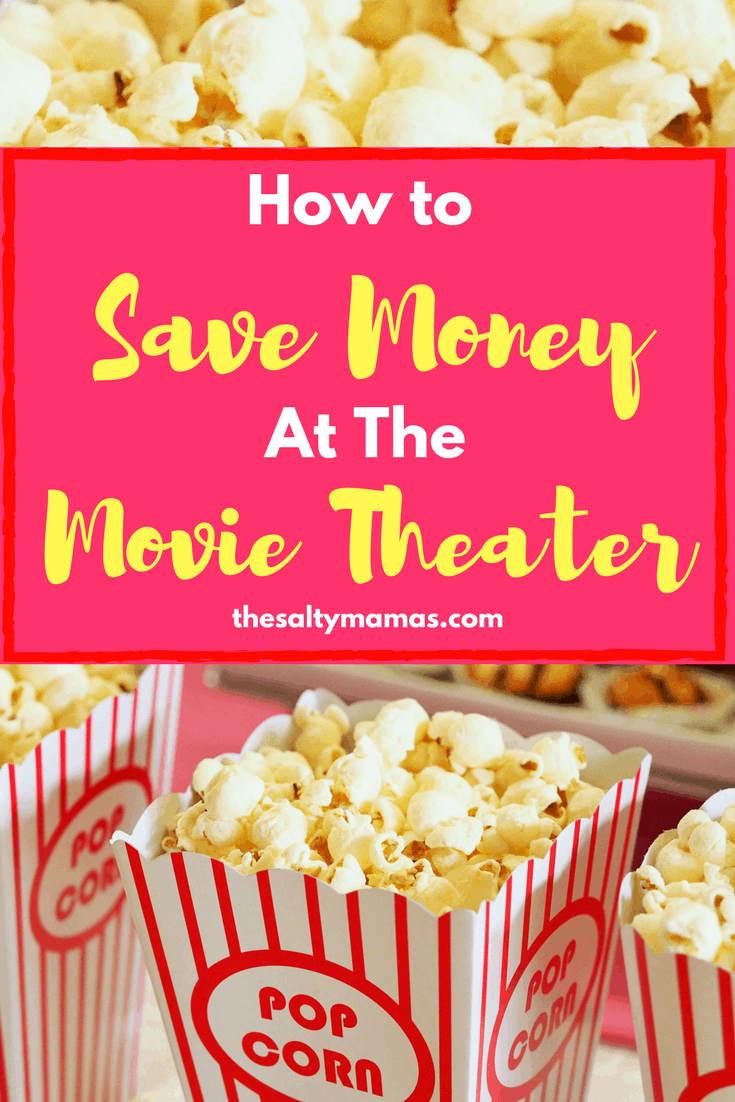 Looking for a way to save money on movie theater concessions? Try this trick from thesaltymamas.com #savingmoney #movieswithkids #familymovies