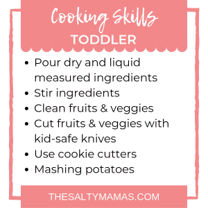 #cooking #cookingwithkids #cookingwithtoddlers #cookingwithmytoddler #canmytoddlercook #cantoddlerscook #shouldtoddlerscook #toddlercookingskills #toddlerkitchenskills #kitchenskills #kitchenskillbyage #kitchenskillsforkids #kitchenskillstoddler