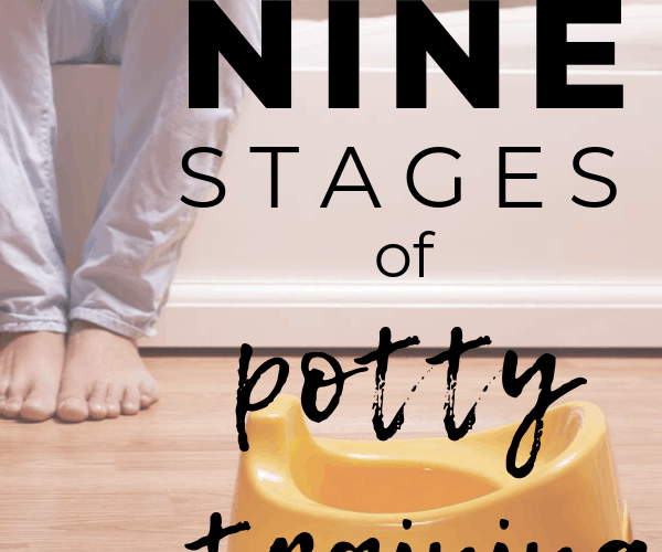 The 9 Stages of Potty Training