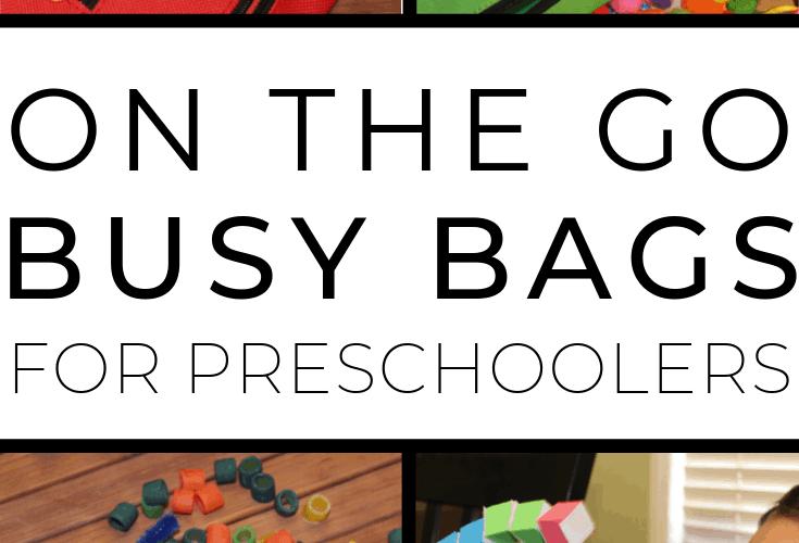 (Even More) Preschool Busy Bags