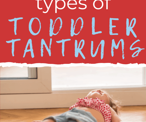 11 Types of Toddler Tantrums