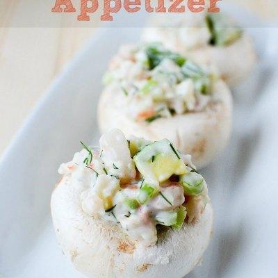 shrimp and avocado salad appetizer