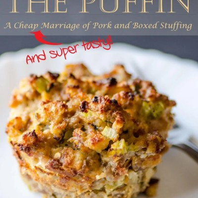 pork and stuffin muffin – the puffin!
