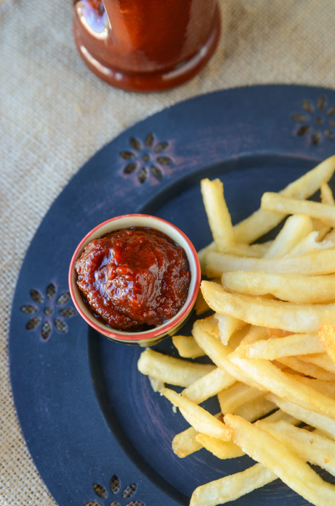 Ketchup is one of our favorite condiments. Learn how your can make Crock Pot Homemade Ketchup that's easy to put together and delicious.