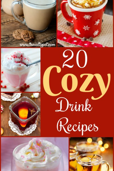 20 cozy drink recipes to cuddle up with!
