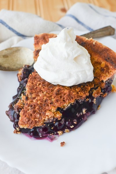 blueberry strudel pie