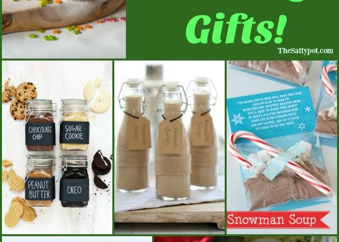 the best DIY edible gifts for Christmas!