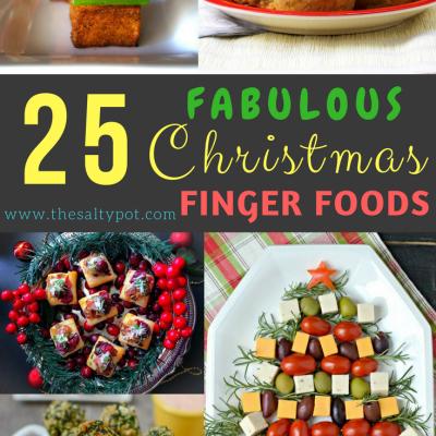 25 fabulous christmas finger foods