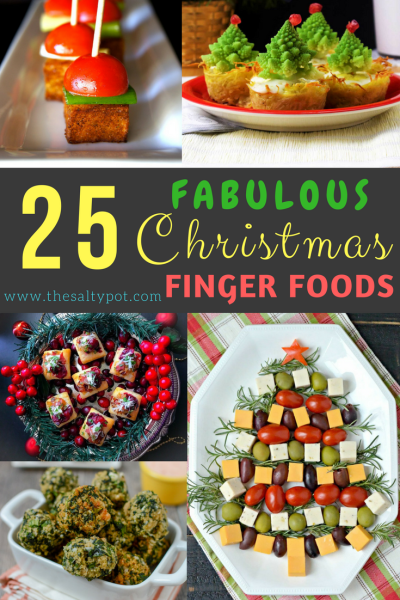 25 fabulous christmas finger foods