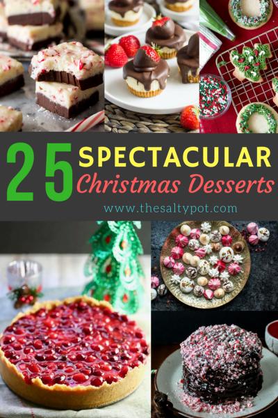 25 spectacular christmas desserts