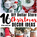 16 Dollar Store Diy Christmas Decor Ideas The Salty Pot