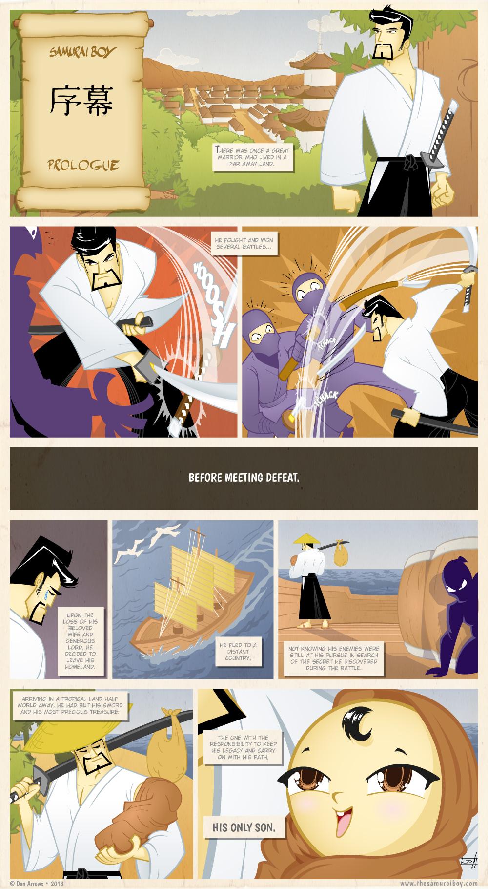 Prologue – A Samurai's Path