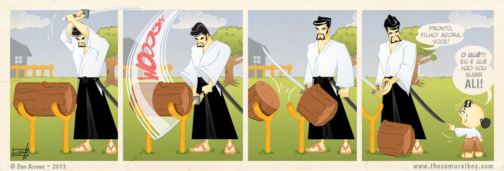 O corte da espada