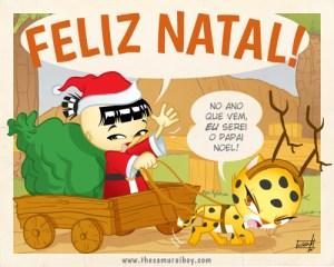 Feliz Natal! - Samurai Boy